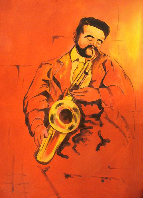 musicista sax