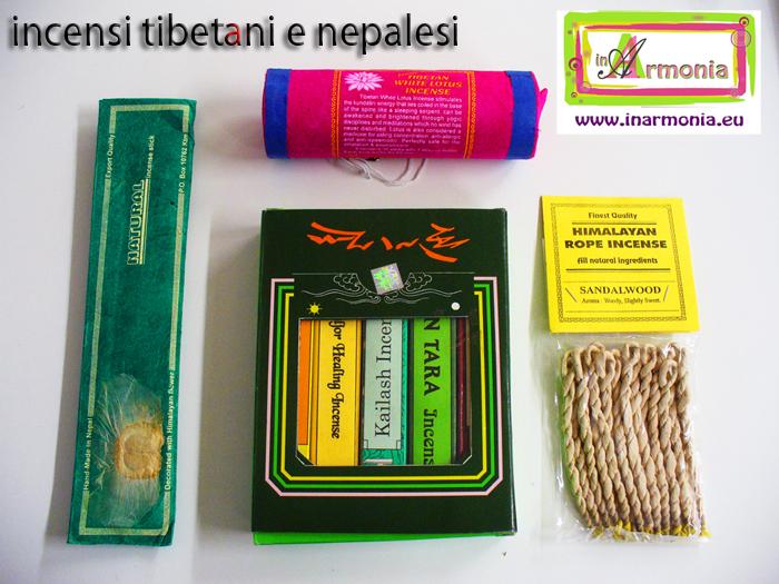 incenso nepalese e tibetano